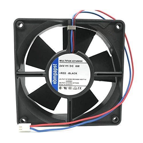 N+A High-End Equipment Fan for ebmpapst 4314NHH DC24V 6W,Inverter Fan 4314NHH 120x120x32MM 3PIN