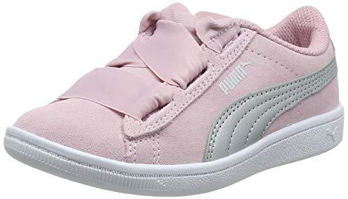 Puma Mädchen Vikky Ribbon AC PS Sneaker, Pink (Pale Pink Silver), 30 EU
