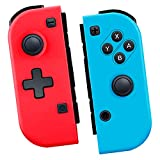 TUTUO Wireless Controller for Nintendo Switch/Switch Lite, Replacement Controller Compatible with Switch Joy Pad, Bluetooth Gamepad with Wake-up, Dual Vibration and Motion Control Functions