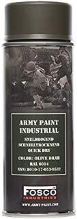 Army Paint - Spray de pintura de 400 ml, aerosol para grafitis, para decorar y personalizar chapas de airsoft - 469312 - Color verde oliva oscuro.