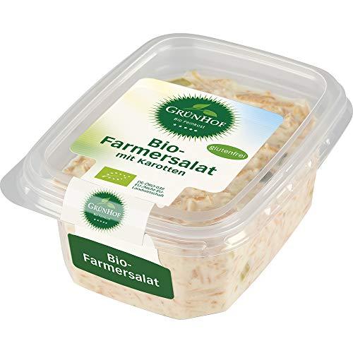 Grünhof Bio Salat aus Karotten, Sellerie und Porree in würziger Mayonnaise, mit Joghurt verfeinert (6 x 200 gr)