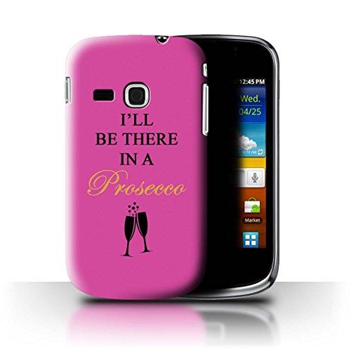 Stuff4® Phone Case/Cover/Skin/SGMN-CC/Prosecco Fashion Collection Samsung Galaxy Mini 2/S6500 I'll Be There/luchtbellen