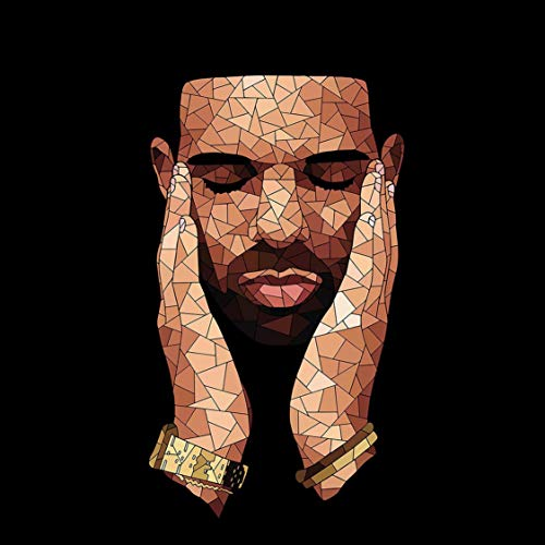 Youngpin Drake Art Poster Print,Unframed 20x20 Inches