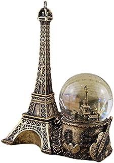 GJHK Résine Eiffel Tower Crystal Music Box Cadeaux Fabriqué à la Main Cadeaux à la Main Salon Entrée de Bureau Décoration ...