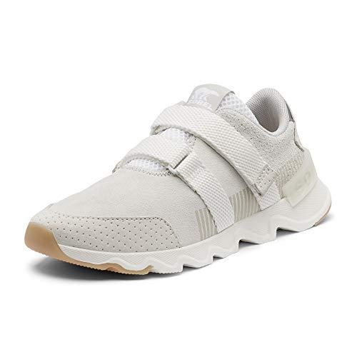 Sorel Women's Kinetic Lite Strap Sneaker - Casual - Running and Walking - White - Size 8