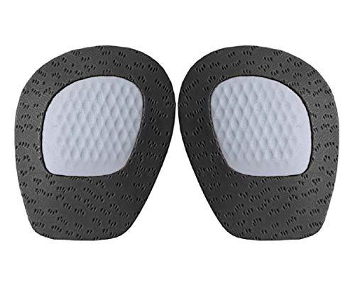 Kaps Schuheinlagen Cody, Orthopädische Vorfußeinlagen, Einlegesohlen aus Latexschaum und Leder, Pelotten mit Rutschbremse gegen leichte Spreiz-Füße - Schwarz