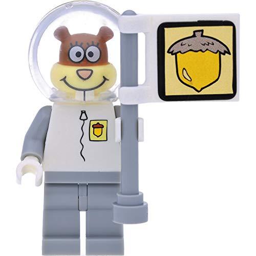 LEGO Figura de Bob Esponja (Sandra/Sandy Cheeks) como astronauta