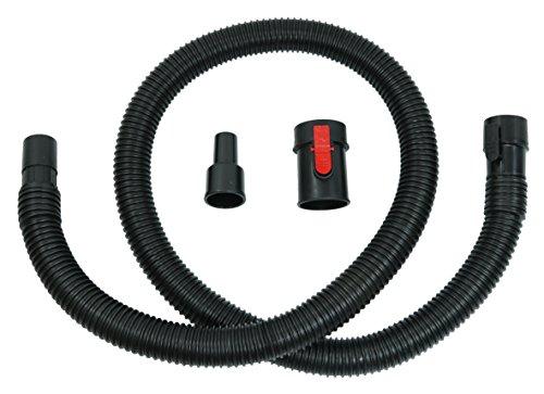 "Ridgid Tug-A-Long Genuine OEM 31713 1-7/8 Inch, 7 Foot Vacuum Hose Kit for Wet / Dry Vacuums w/ 1-1/4"" Adapter"