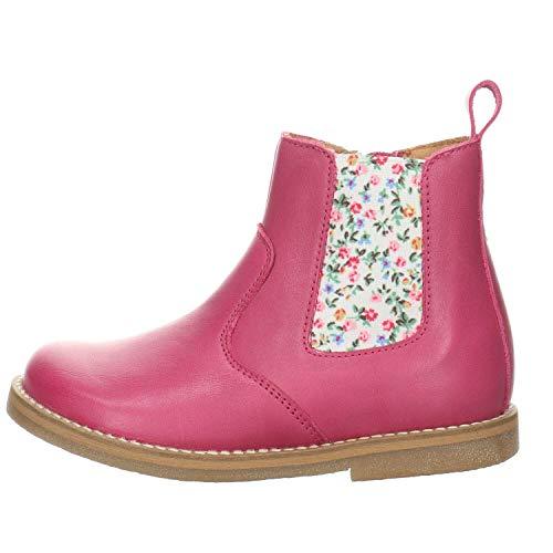 Froddo Ivancica d.d. Mädchen Chelsea Boots Chelys Stiefelette Leder- glatt/genar pink Gr. 34