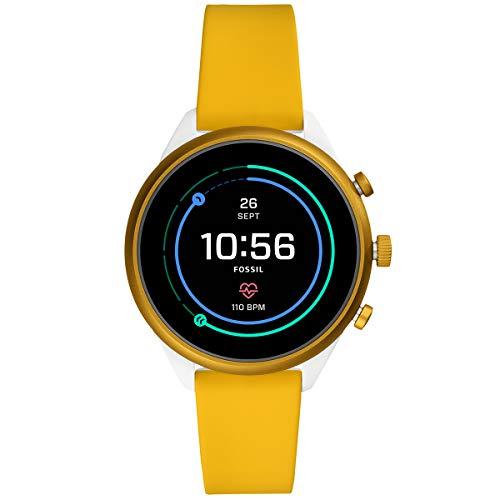 [フォッシル]腕時計フォッシルスポーツタッチスクリーンスマートウォッチFTW6053レディース正規輸入品イエロー