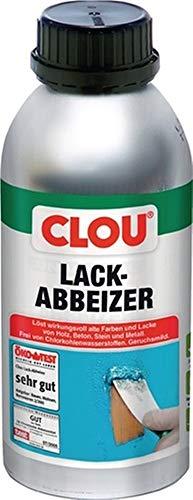CLOU Lack-Abbeizer 500 ml, 6 Flaschen