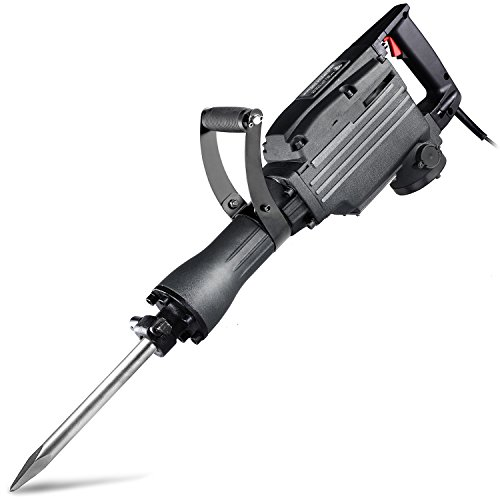 Neiko 02845A Electric Demolition Jack Hammer with Point and...