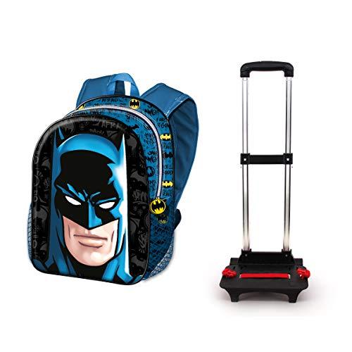 Karactermania Batman Knight-Basic Trolley-Rucksack Mochila Tipo Casual 48 Centimeters 18.2 Multicolor (Multicolour)