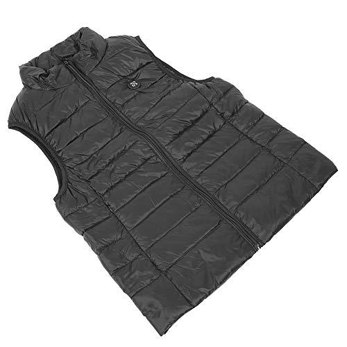 【𝐑𝐞𝐠𝐚𝐥𝐨 𝐝𝐞 𝐍𝐚𝒗𝐢𝐝𝐚𝐝】 Chaleco calefactor, chaleco calefactor, textura suave Fácil de llevar Tecnología calefactora Mujer El hombre para el hogar Las masas(XL)
