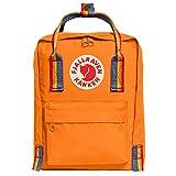 Fjallraven F23621-212-907 Kånken Rainbow Mini Burnt Orange-Rainbow Pattern OneSize