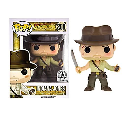 """YYBB Figura Pop!Películas de Indiana Jones - 3.9"""" Exclusivo de colección de Vinilo Figura Regalos for niños Juguetes Figurines"""