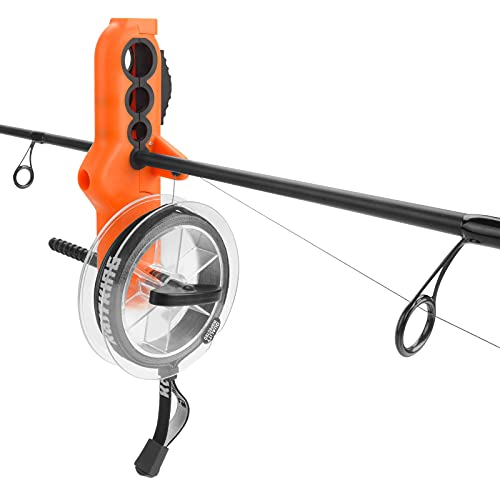 KastKing Radius Line Spooler – Compact Fishing Line Spooling Tool for Spinning Reels and Casting Reels – Line Spooler Spools Fishing Reels Without Line Twist