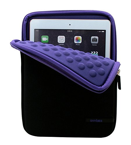 Ultra Protective con Accesorio Bolsillos Funda para iPad Mini/Lenovo Tab 3/Samsung Galaxy...