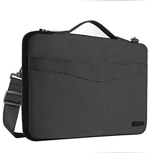 Laptop-Umhängetasche 13 13,3 Zoll Oberflächenschutz Stoßfest Resistant Handtasche, Schwarz, China