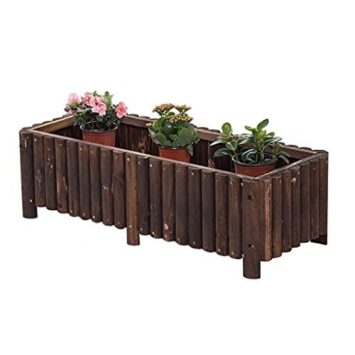 Stands Maceteros con Caja de Ventana, Jardinera elevada para jardín, Jardinera de...