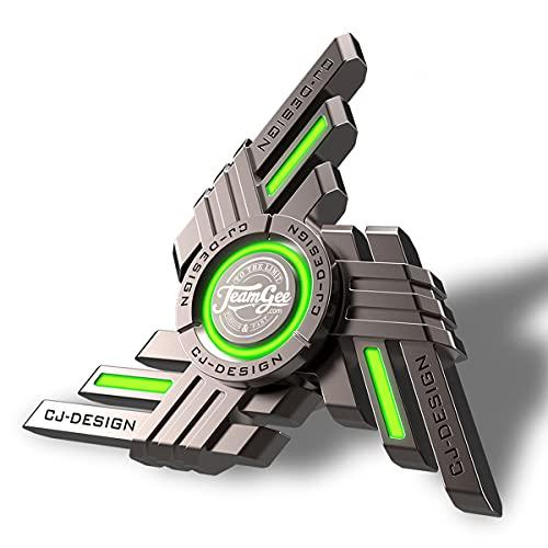 Teamgee Fidget Spinners, Metal Fidget Spinners Luminous...