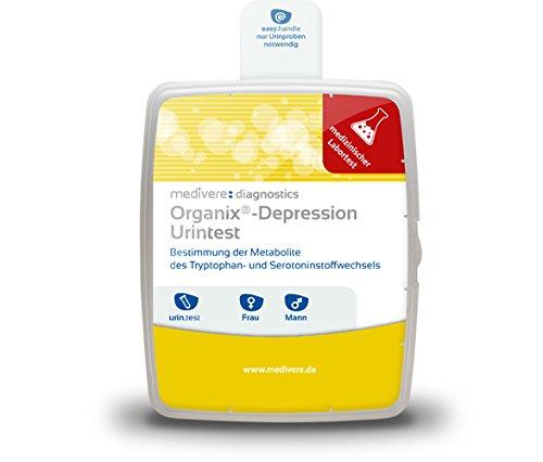 ORGANIX Depression Urintest 1 St