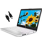 2020 Premium HP Stream 11 Laptop Computer 11.6' HD WLEDAnti-Glare Intel Celeron Processor N4000 4GB RAM 32GB eMMC Office 365 Personal USB-C WiFi HDMI Win 10 + iCarp HDMI Cable