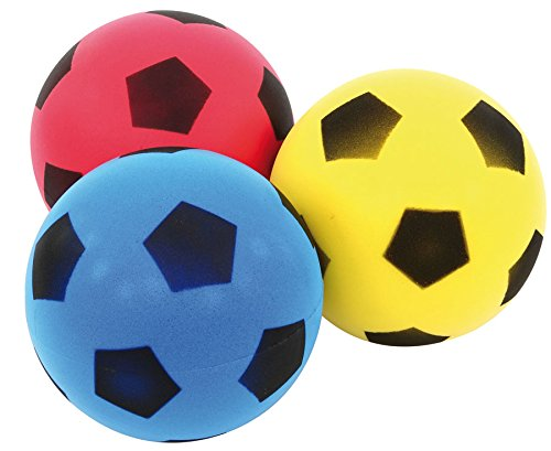 Betzold - Softbälle-Set 3 Stück - Kinder-Schaumstoffball Kinderball Spielball Ball-Set