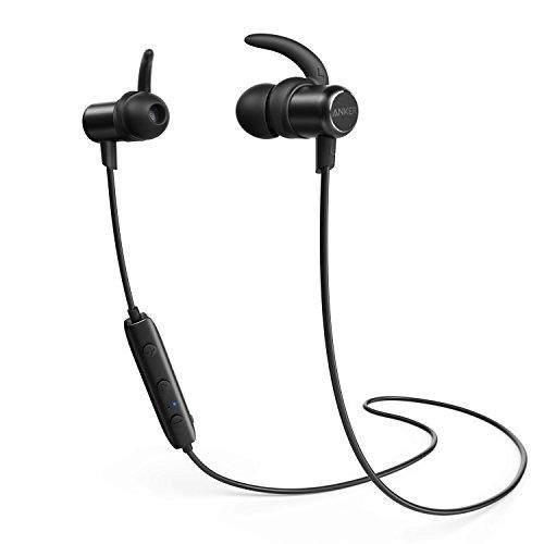 Anker SoundBuds Slim Bluetoothワイヤレスイヤホン(カナル型)【マグネット機能 / 防水規格IPX5 /内蔵マイク搭載】 iPhone、Android各種対応 (ブラック)