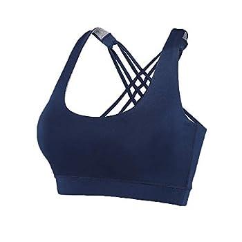 navy blue sports bra