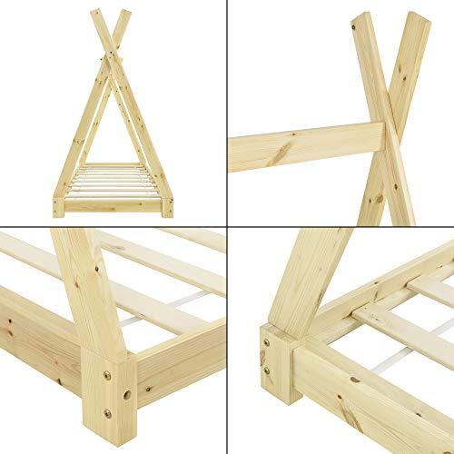 Cama Tipi de madera