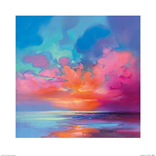 Scott Naismith PPR46357 fotolijst, 60 x 60 cm, blauw 2, meerkleurig