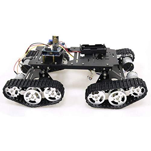 HARTI Programmierbarer Spielzeug-Roboter-Bausatz, Wifi/Bluetooth/PS2-Steuerung RC 4Wd-Roboter-Container-Chassis-Bausatz Mit UNO R3 Platte Und Motion Driver Board Für Arduino DIY