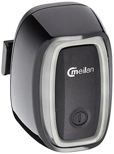 Meilan X6 inteligente USB trasera recargable LED racionalice/cola bicicleta luz intermitente con movimiento y Sensor de luz en/fuera. 50 Lumens multi modo de iluminación. Liberación rápida instalación.
