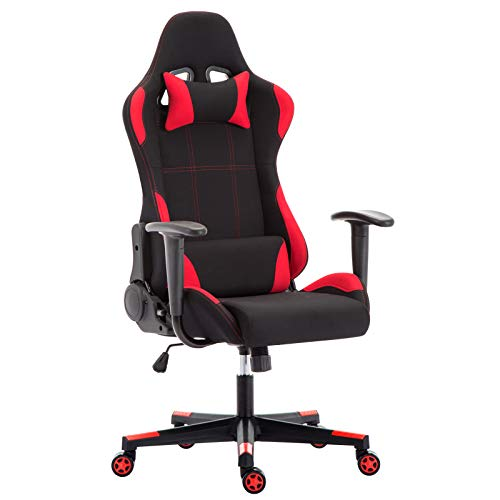 IntimaTe WM Heart Silla Gaming con Tela Flexible, Oficina Silla Giratoria, Ergonómica...