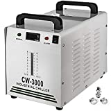 BestEquip Industrial Chiller 8.5L Capacity 220V CW-3000AG Water Chiller Thermolysis Laser Water Chiller for 60W 80W CO2 Glass Tube
