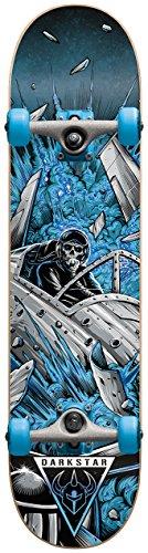 Darkstar Jet Fighter Skateboard da Adulto, Blu