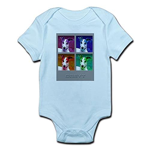 ABADI Body de bebé Galgo Homenaje a Warhol