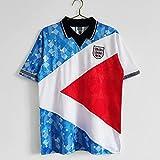 HUUMA England Jersey T-Shirt Retro Jersey Fan Commemorative Edition