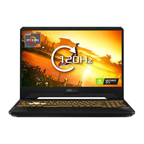ASUS TUF FX505DU Ryzen 7-3750H 8GB 512GB SSD 15.6 Inch 120Hz GeForce GTX 1660Ti Windows 10 Gaming Laptop