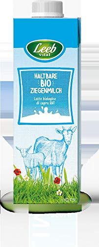 Leeb Vital Bio Bio Bio Ziegenmilch, ultrahocherhitzt (6 x 750 ml)