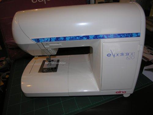 Elna eXperience 620 Nähmaschine mit 60 Nähprogramme, inkl. Augenknopfloch, komfortable Ausstattung