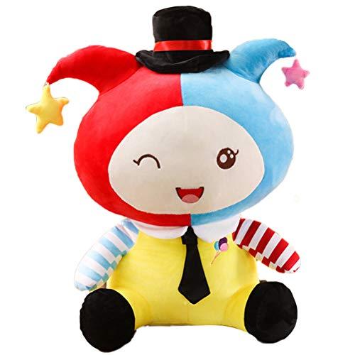 Nargut weiche Plüschpuppen Spielzeug, niedliche Clown Plüschtiere Gefüllte Clown Plüschpuppe Kinder Kinder Baby Geburtstag Home Decor
