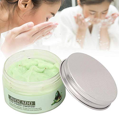 100g Avocat Visage Pore Blackhead Deep Cleanser Adoucit Les Cuticules Blackhead Cleansing Facial Milk Moisturizing Cleanser