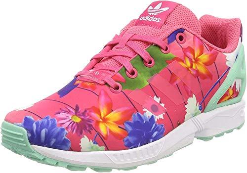 adidas Unisex-Erwachsene ZX Flux Fitnessschuhe, Pink (Rosrea/Rosrea/Ftwbla 000), 39 1/3 EU
