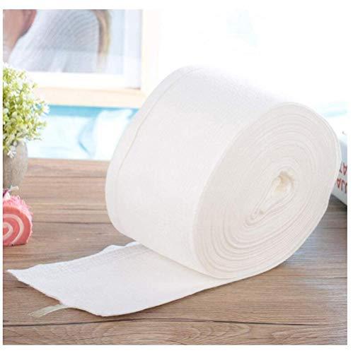 100% Non Woven Doek Disposable Wasmiddel, Katoen Remover, Gezicht Zachte Huid Cosmetische Reinigingsmiddelen (Color : 1 roll)