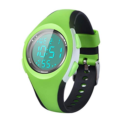 Kids Watch, Boys Sports Digital Waterproof Led Watches with Alarm Wrist Watches for Boy Girls Children Watch B