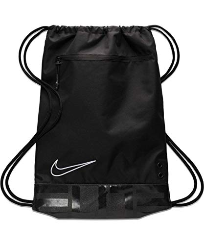 Nike Elite Basketball Gym Sack Ventilated Backpack Black