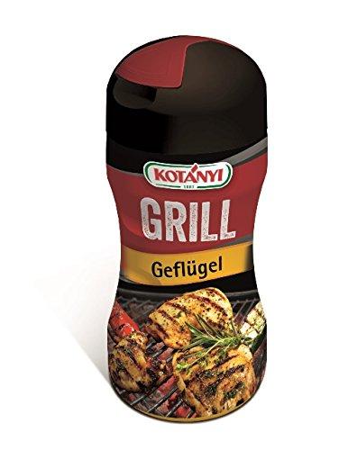 Kotanyi Grill Geflügel Gewürzmischung | perfekte Würze für Gefügel, würziger Geschmack, 80g