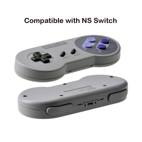 DSstyles 8Bitdo SNES30 Wireless Gamepad Controller für PC Android iOS Mac